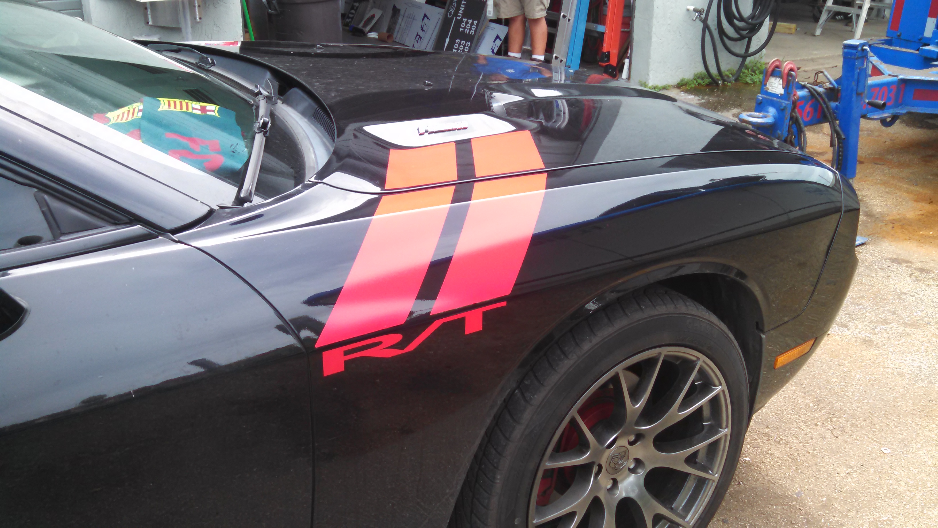 Dodge Challenger Stripe Kits